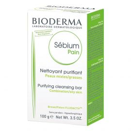 Bioderma Limpiador Facial Sebium Pain 100g.