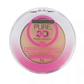 Maybelline Polvo Compacto Pure Makeup 3D